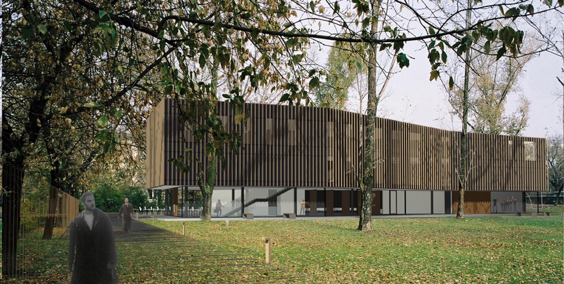 Dzielnicowe Centrum Promocji Kultury w Warszawie. BAZA architekci.