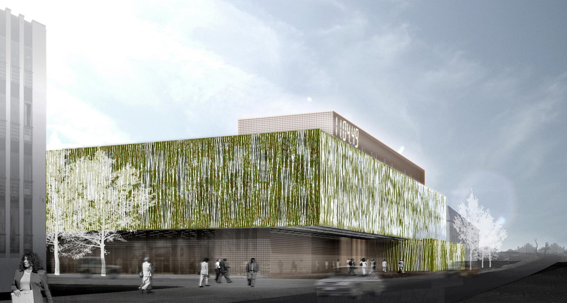 Centrum Administracyjne przy ul. Piłsudskiego w Rzeszowie. Projekt BAZA architekci.