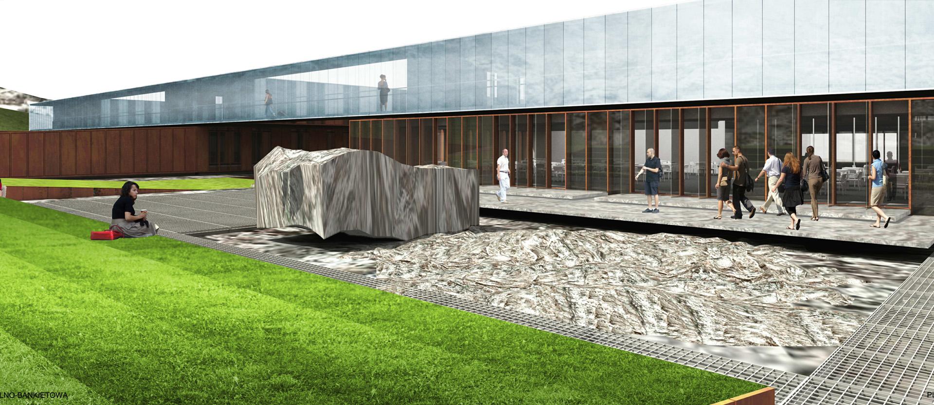 Projekt Europejskiego Centrum Edukacji Geologicznej. Baza architekci.