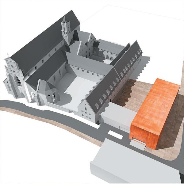 Rozbudowa muzeum architektury we Wrocławiu.